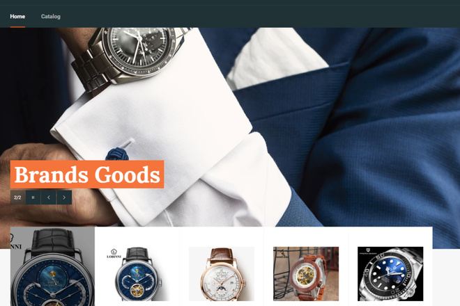 Создам интернет-магазин на Shopify без ежемесячной оплаты 1 - kwork.ru