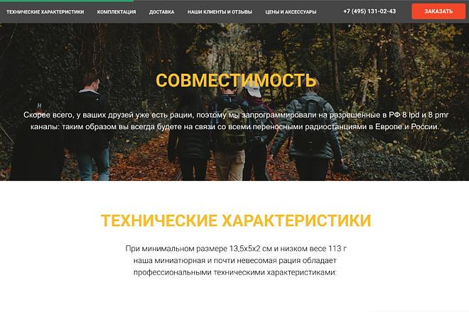 Лендинг на Tilda 14 - kwork.ru