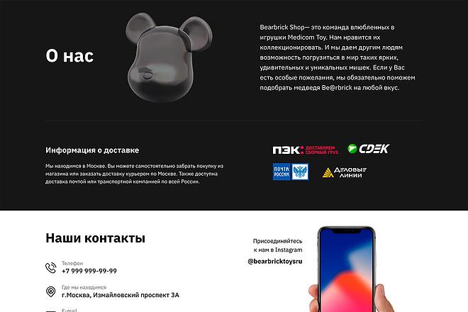 Лендинг на Tilda 11 - kwork.ru