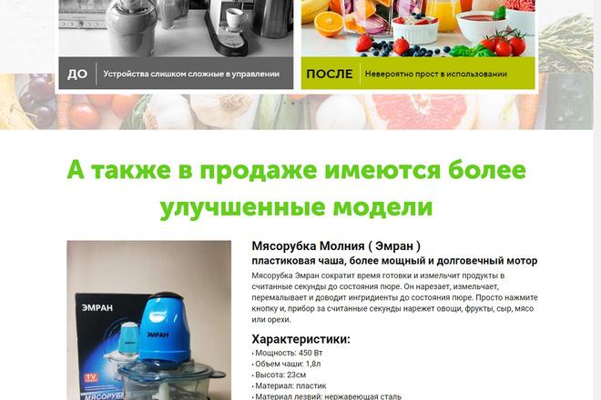 Разработка Landing page LPmotor 9 - kwork.ru