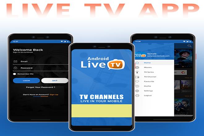 Разработка Android Live TV 1 - kwork.ru