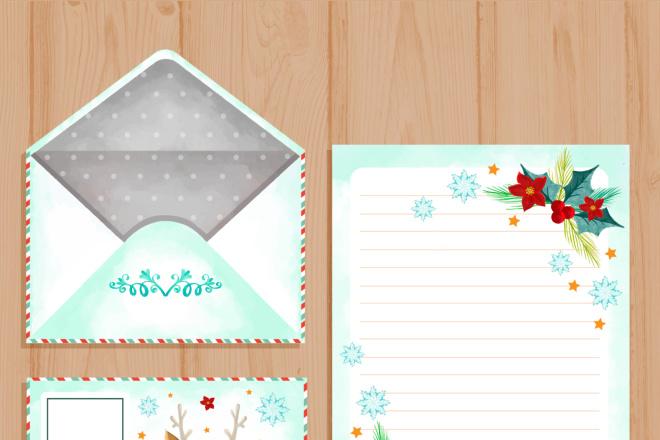 Письмо от Деда Мороза, Санты 4 - kwork.ru
