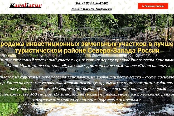 Создам лендинг на вордпресс быстро 19 - kwork.ru