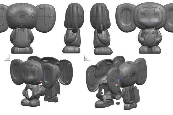 3D модели. Визуализация. Анимация 129 - kwork.ru