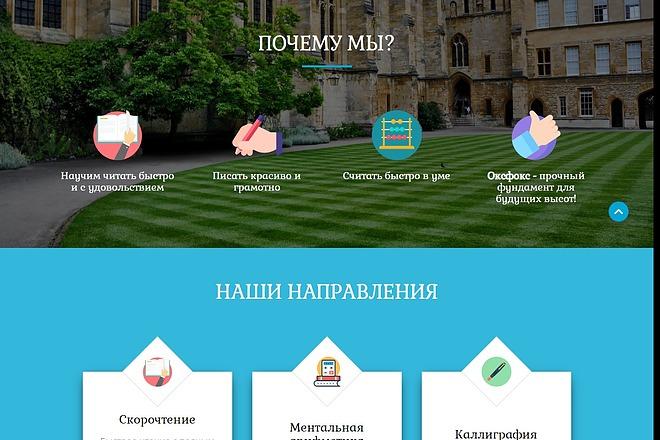 Landing Page с 0 + дизайн 40 - kwork.ru