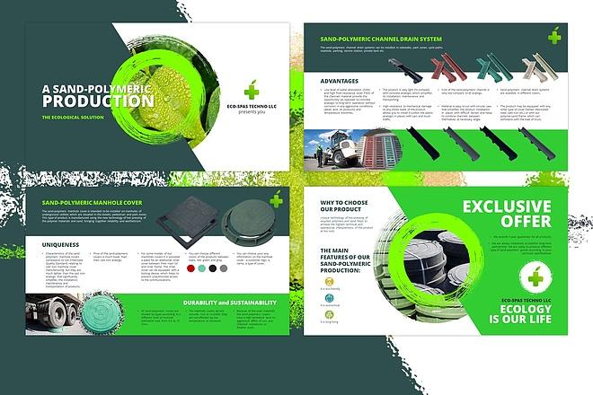 Оформление презентации товара, работы, услуги 79 - kwork.ru