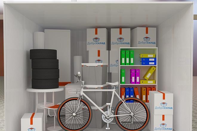 Сделаю 3D модель, текстурирование и визуализацию 28 - kwork.ru