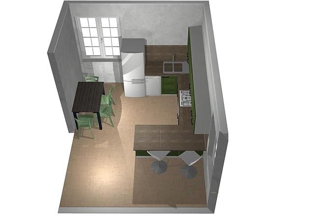 Создам 3D дизайн-проект кухни вашей мечты 10 - kwork.ru