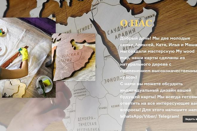 Создание сайта - Landing Page на Тильде 60 - kwork.ru