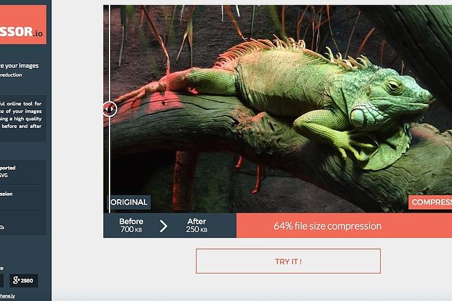 Сожму и оптимизирую 2500 изображений для быстрой загрузки сайта 3 - kwork.ru