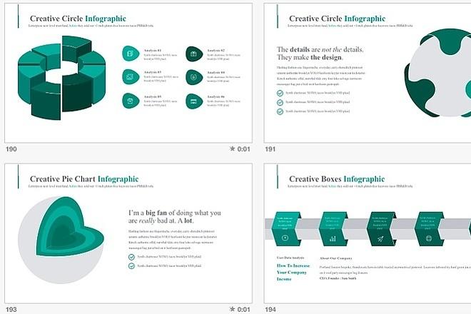 2800 шаблонов для создания инфографики 8 - kwork.ru