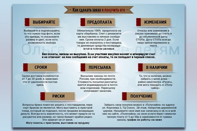 Инфографика любой сложности 28 - kwork.ru