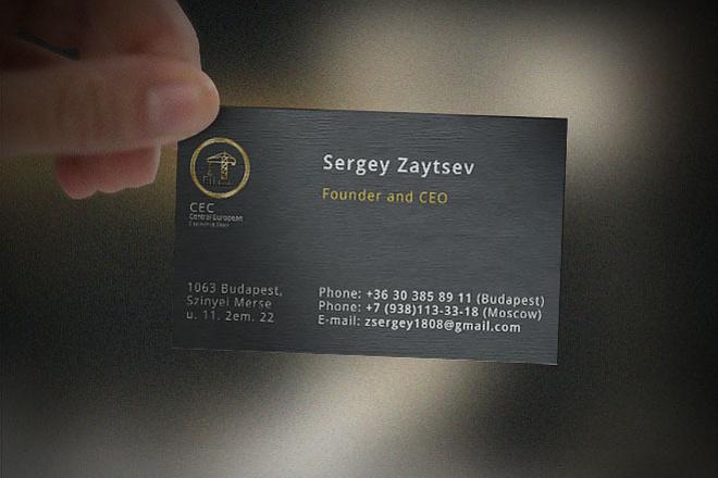 Сделаю дизайн-макет визитной карточки 5 - kwork.ru