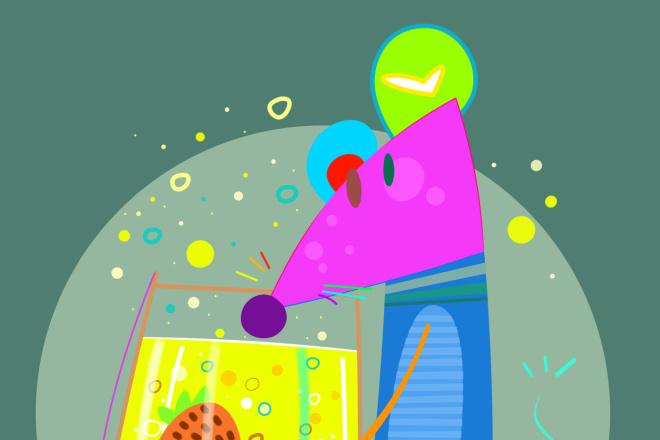 Нарисую персонажа в авторском стиле, иллюстрацию 6 - kwork.ru