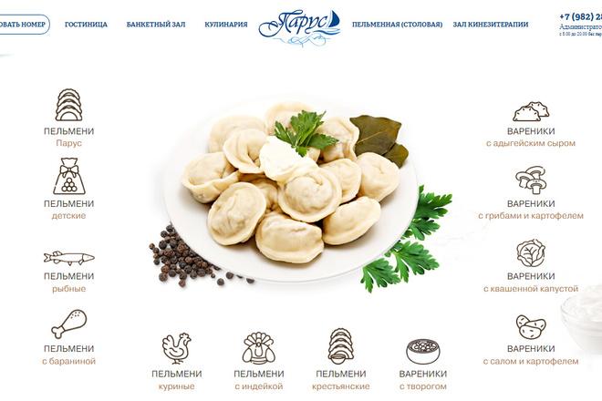 Профессионально и недорого сверстаю любой сайт из PSD макетов 15 - kwork.ru