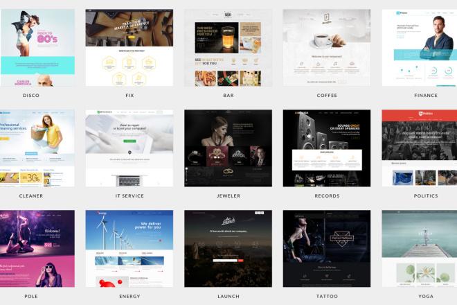 Новые премиум шаблоны Wordpress 45 - kwork.ru