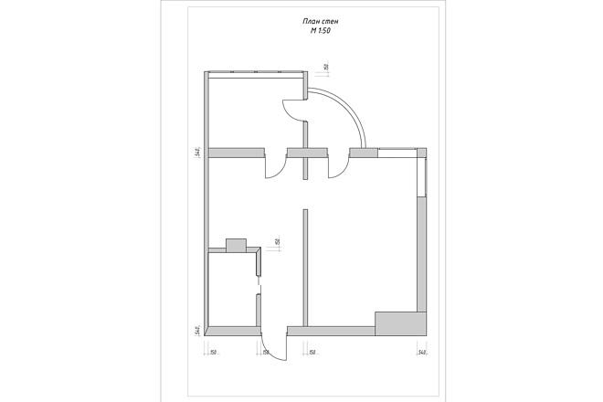 Создам план в ArchiCAD 15 - kwork.ru