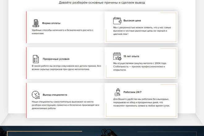 Сделаю продающий Лендинг для Вашего бизнеса 31 - kwork.ru