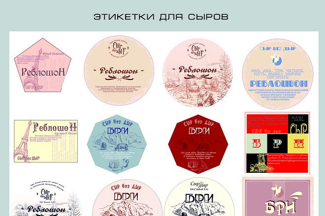 Дизайн упаковки, этикеток, пакетов, коробочек 8 - kwork.ru