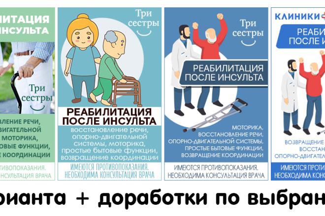 Разработка баннеров для Google AdWords и Яндекс Директ 5 - kwork.ru