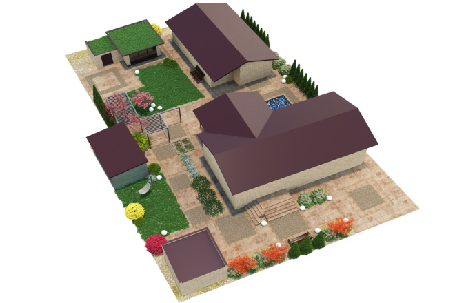 3D визуализация разной сложности 45 - kwork.ru