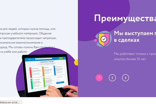Скопирую страницу любой landing page с установкой панели управления 38 - kwork.ru