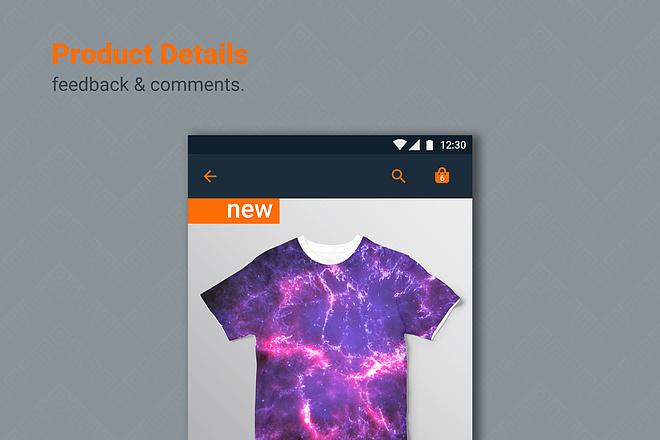 Дизайн мобильного приложения UI UX 9 - kwork.ru