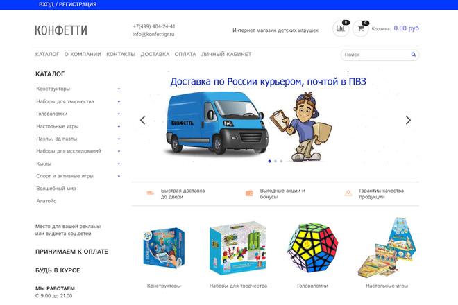 Профессионально создам интернет-магазин на insales + 20 дней бесплатно 69 - kwork.ru