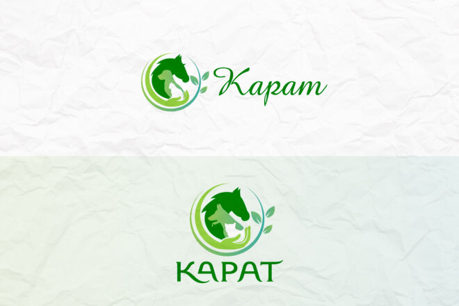 Создам 2 варианта логотипа + исходник 10 - kwork.ru