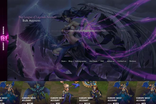 Дизайн страницы сайта в PSD 16 - kwork.ru