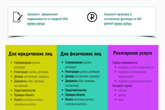 Создание сайтов на конструкторе сайтов WIX, nethouse 61 - kwork.ru