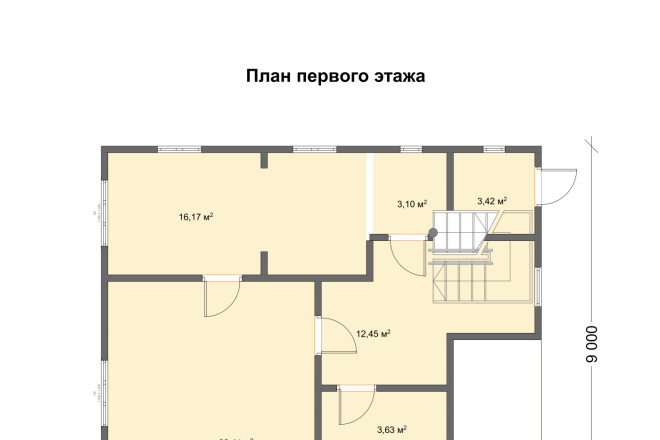 3д моделирование и визуализация экстерьеров домов 23 - kwork.ru