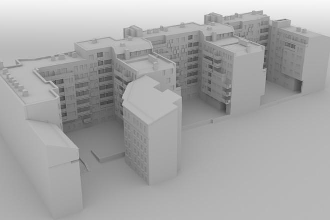 Архитектурное 3d моделирование 6 - kwork.ru