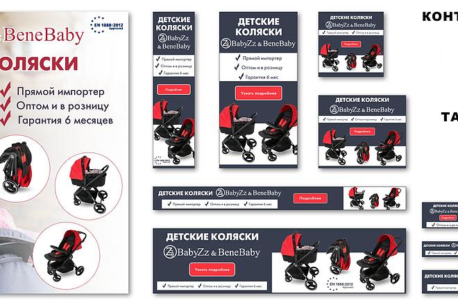 Разработка баннеров для Google AdWords и Яндекс Директ 22 - kwork.ru