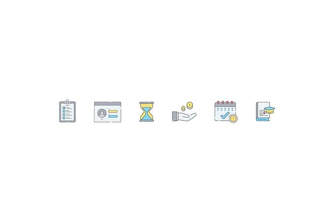 Создам 5 иконок в любом стиле, для лендинга, сайта или приложения 32 - kwork.ru