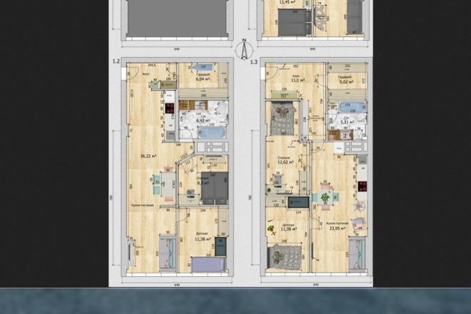 Интересные планировки квартир 24 - kwork.ru