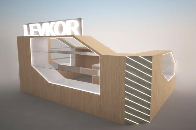 Визуализация торгового помещения, островка 39 - kwork.ru