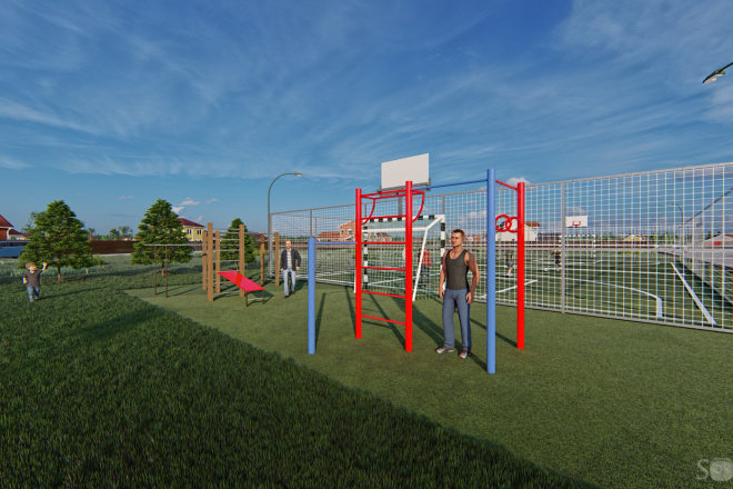 Фотореалистичная 3D визуализация экстерьера Вашего дома 198 - kwork.ru