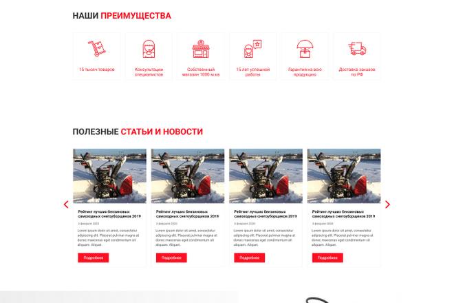 Уникальный дизайн сайта для вас. Интернет магазины и другие сайты 49 - kwork.ru