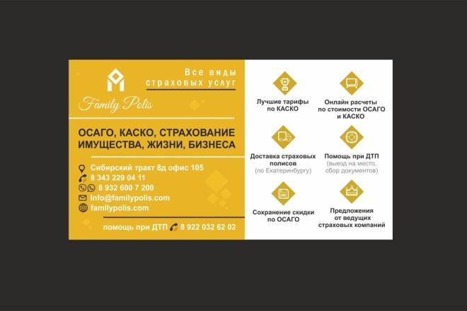 Создам визитку, быстро 1 - kwork.ru