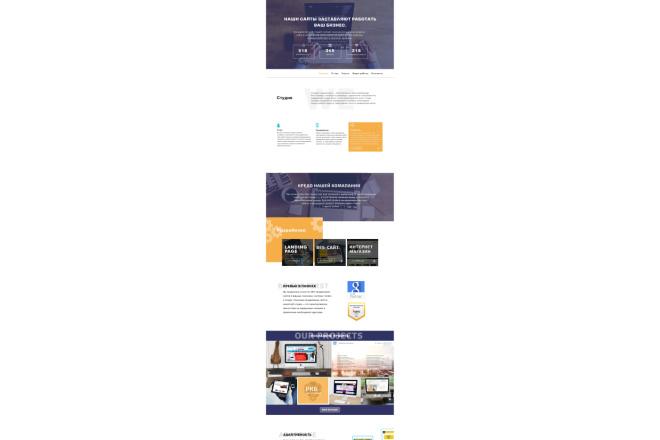 Вёрстка страницы HTML CSS JS по доступной цене. По макету 2 - kwork.ru