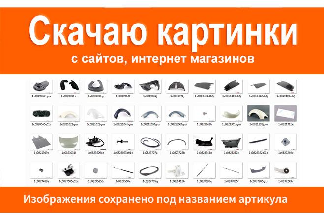 Скачаю картинки с сайтов, изображения товаров с интернет-магазинов 3 - kwork.ru