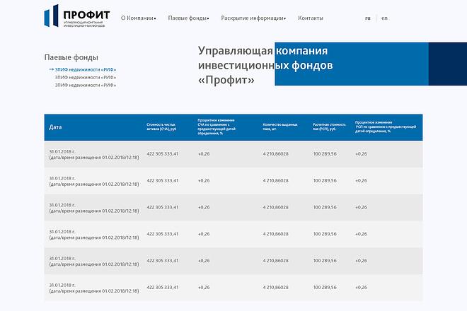 Дизайн сайта PSD 27 - kwork.ru