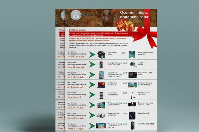 Яркий дизайн коммерческого предложения КП. Премиум дизайн 65 - kwork.ru