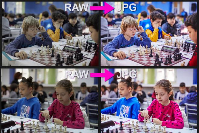Для проф. фотографов - конвертация фото из RAW в JPG, 100 штук 11 - kwork.ru
