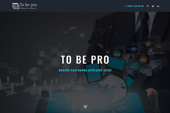 Создание продающих сайтов landing page 5 - kwork.ru