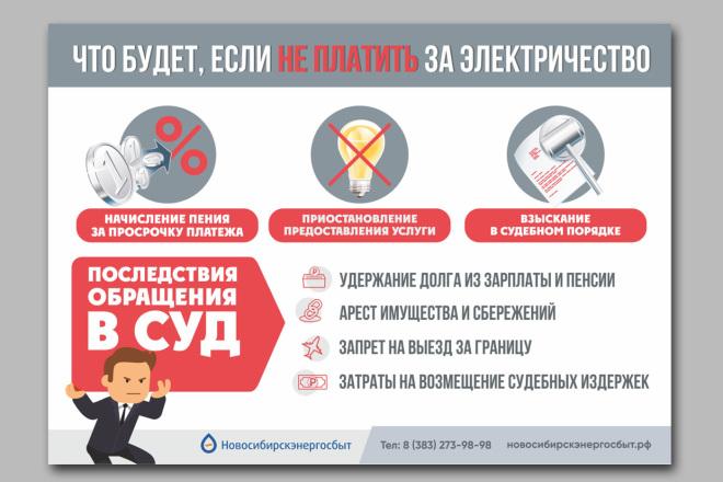 Дизайн плакаты, афиши, постер 4 - kwork.ru