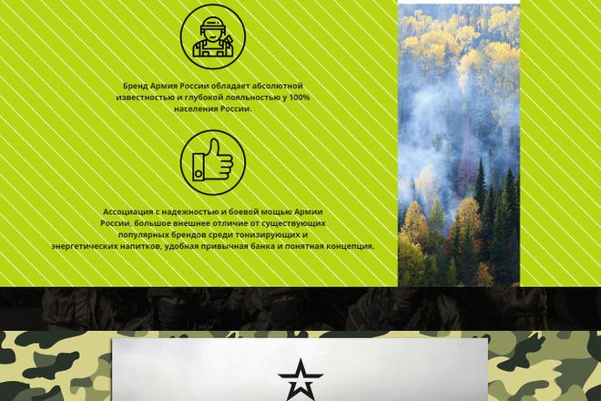 Создание красивого адаптивного лендинга на Вордпресс 37 - kwork.ru