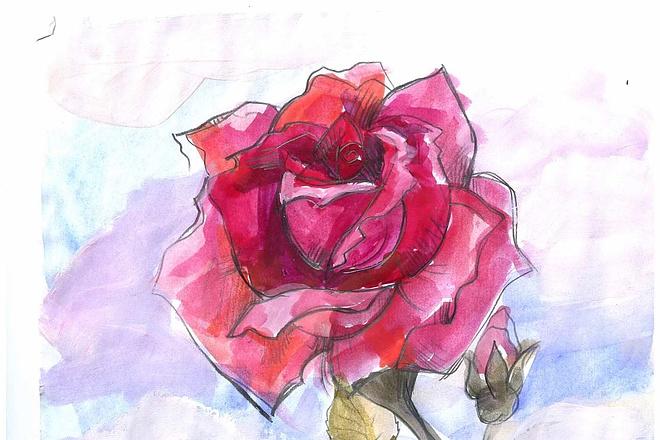 Нарисую рисунок или эскиз в ручной технике красиво и быстро 19 - kwork.ru