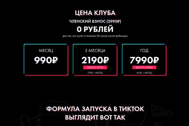 Скопирую страницу любой landing page с установкой панели управления 51 - kwork.ru